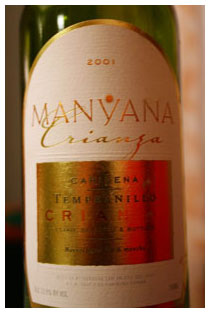 Manyana wine rating